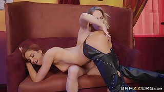 Carter Cruise eating her friend's pussy like she is the finest cake