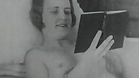 Horny Lesbian Loves Their way Fat Dildo (1920s Vintage)
