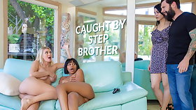 LETSDOEIT - Natalia Starr & Jenna Foxx Hot Making love With Stepbro