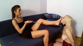 foot licking fetish - femdom porn growth